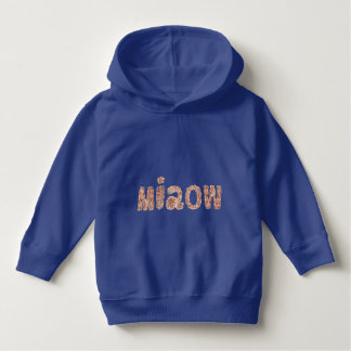 Miaow Toddler Pullover Hoodie