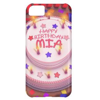 Mia's Birthday Cake iPhone 5C Covers