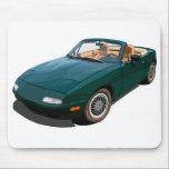 """Miata Mouse Pad<br><div class=""""desc"""">The Mazda Miata MX-5 sports car.</div>"""