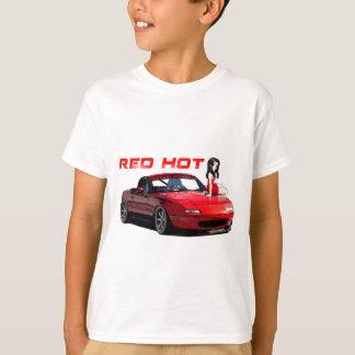 Miata MX-5 Red Hot T Shirt