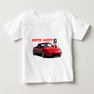 Miata MX-5 Red Hot Tee Shirt
