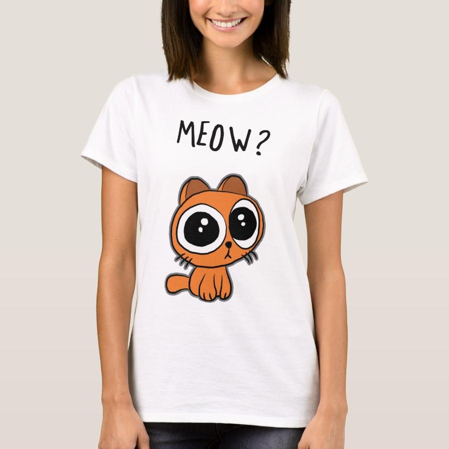 Miau T-Shirt - Best Selling Long-Sleeve Street Fashion Shirt Designs