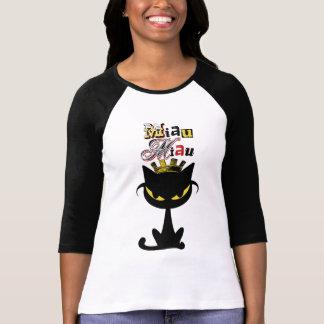 miaumiau Ladies 3/4 Sleeve Raglan Fitted T-Shirt