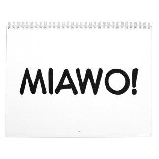 Miawo cat calendar