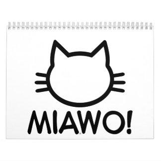 Miawo cat wall calendars
