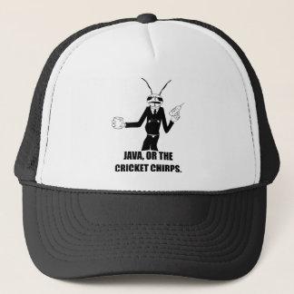 MIB Java Cricket Chirps Worm Trucker Hat