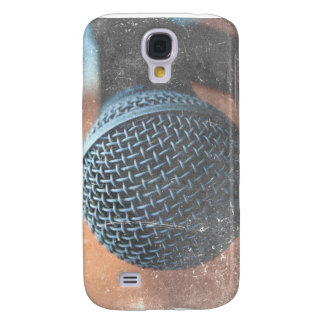 mic close up photo grunge overlay color music samsung galaxy s4 case