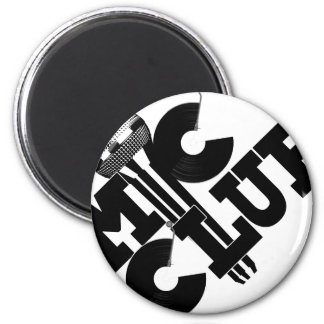mic club.png 2 inch round magnet