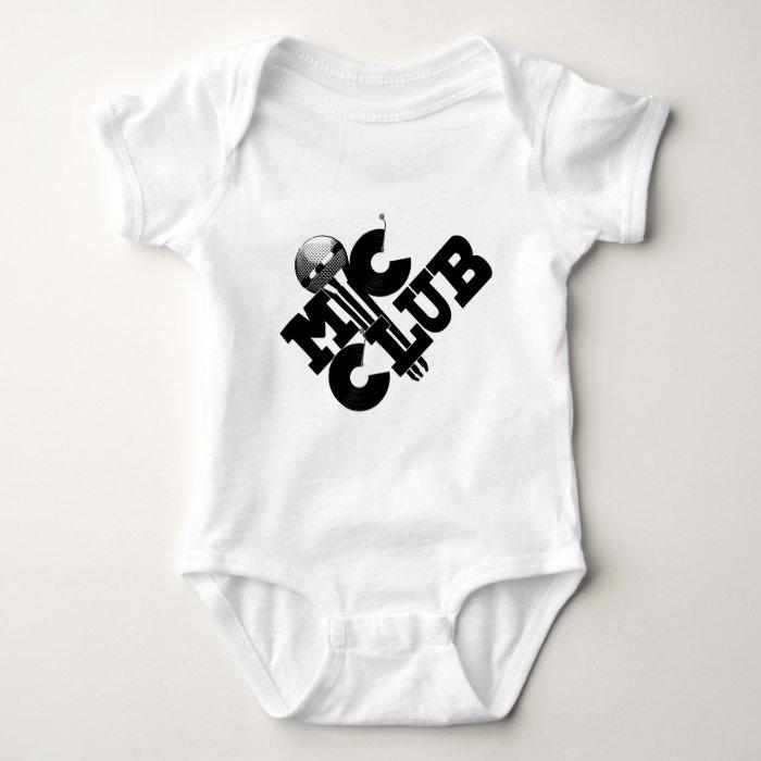 mic club.png baby bodysuit