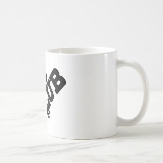 mic club.png classic white coffee mug