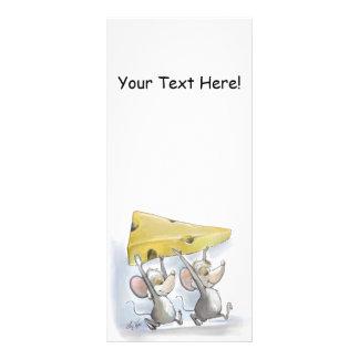 Mic & Mac Bringing In The Cheese Bookmark Rack Card