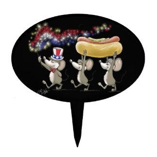 Mic, mac y Moe 4to del primero de la torta de la n Decoración De Tarta