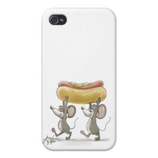 Mic & Mac's Picnic  iPhone 4 Matte Finish Case Case For iPhone 4