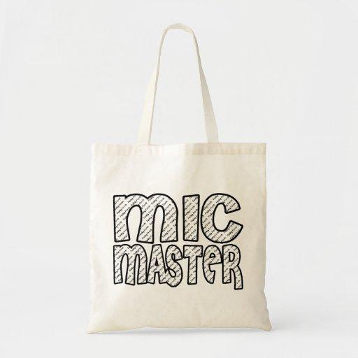 Mic Master Funky Fresh Tote Bags