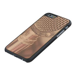 Mic retro funda de iPhone 6 carved® slim de arce