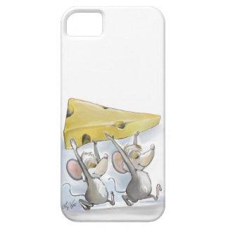 Mic y mac que traen en la caja del queso iphone6 iPhone 5 Case-Mate protectores