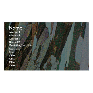 Mica Schist Double-Sided Standard Business Cards (Pack Of 100)