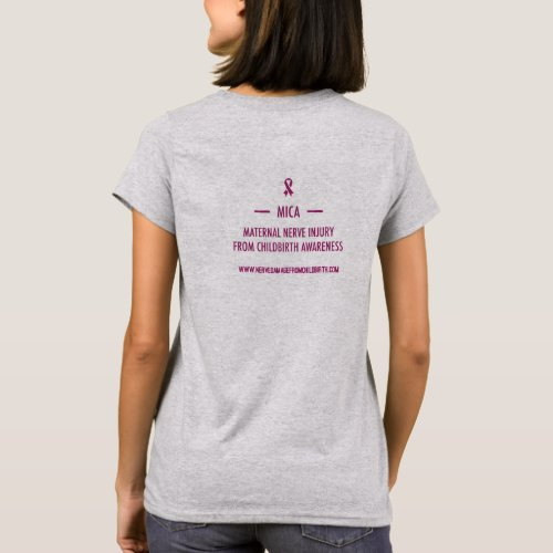 MICA Standing Up for Those Who Cant T_shirt