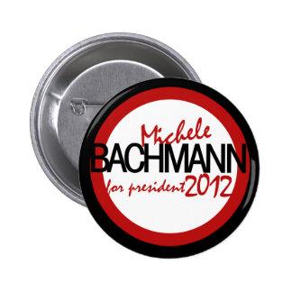 Micaela Bachman 2012 Pin Redondo De 2 Pulgadas