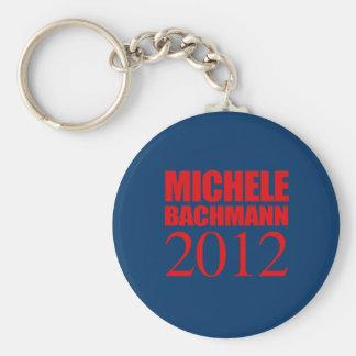 MICAELA BACHMANN 2012 -- LLAVERO REDONDO TIPO PIN