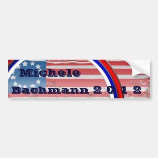 Micaela Bachmann 2012 Pegatina Para Auto
