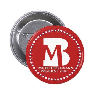 Micaela Bachmann 2016 Pin Redondo De 2 Pulgadas