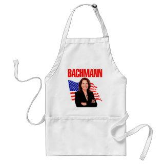 Micaela Bachmann para el presidente 2012 Delantal