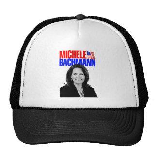 Micaela Bachmann para el presidente 2012 Gorras De Camionero