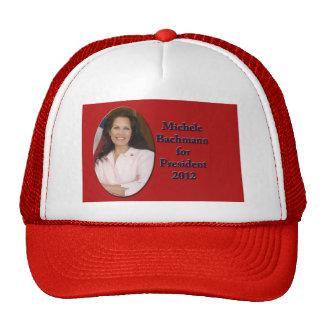 Micaela Bachmann para el presidente 2012 Gorros