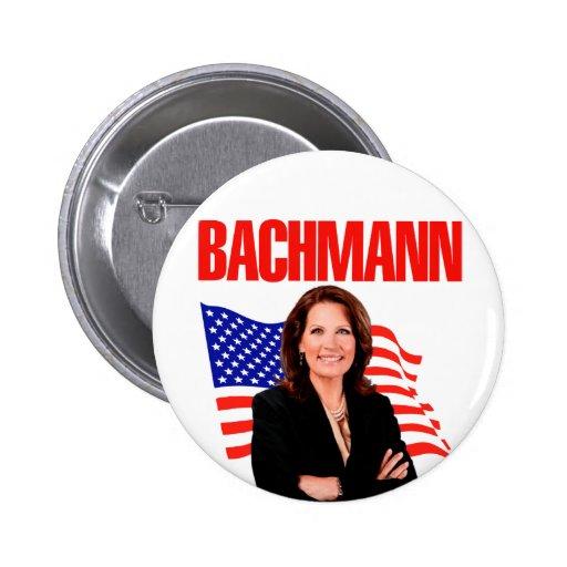 Micaela Bachmann para el presidente 2012 Pins