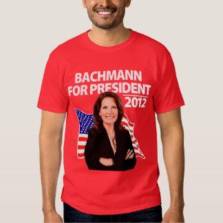 Micaela Bachmann para el presidente 2012 Playera