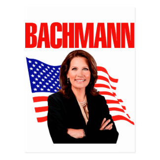 Micaela Bachmann para el presidente 2012 Tarjeta Postal