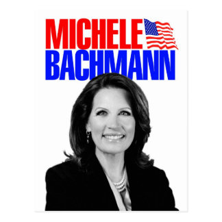 Micaela Bachmann para el presidente 2012 Tarjetas Postales