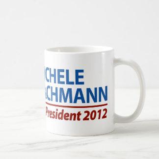 Micaela Bachmann para el presidente 2012 Taza Básica Blanca