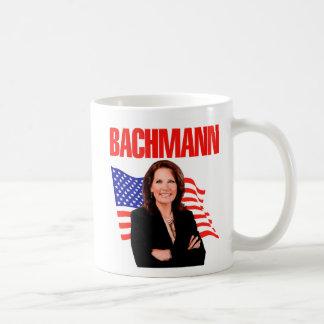 Micaela Bachmann para el presidente 2012 Tazas De Café