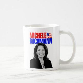 Micaela Bachmann para el presidente 2012 Tazas