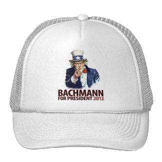 Micaela Bachmann para el presidente Gorra