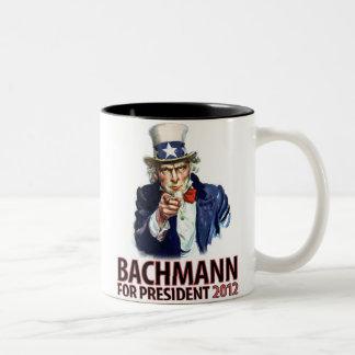 Micaela Bachmann para el presidente Tazas