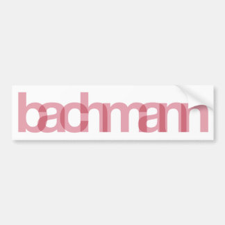 Micaela Bachmann Pegatina Para Auto