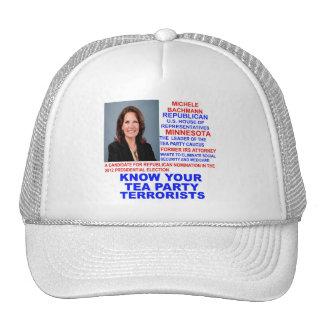 Micaela Bachmann, terrorista de la fiesta del té Gorro