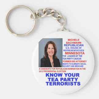 Micaela Bachmann, terrorista de la fiesta del té Llavero