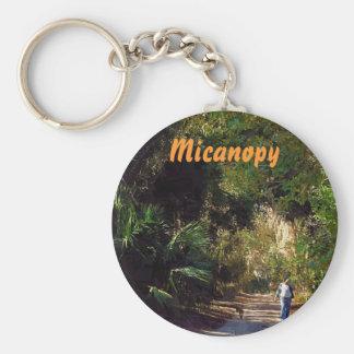 Micanopy, la Florida Llavero Redondo Tipo Pin