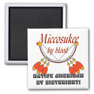 Miccosukee 2 Inch Square Magnet