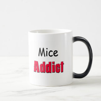 Mice Addict 11 Oz Magic Heat Color-Changing Coffee Mug