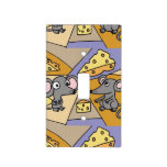 Mice and Cheese Art Abstract Light Switch Covers