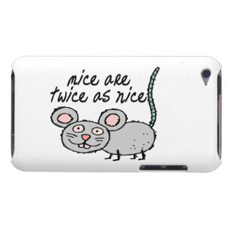 Mice Are Twice As Nice iPod Touch Cases