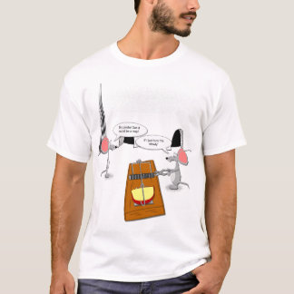 Mice Defusing Trap T-Shirt