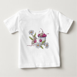 Mice Gathering Cherries, With Daisies T Shirts