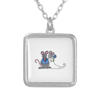 MICE GETTING MARRIED NECKLACES
