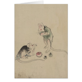 Mice in Council Card